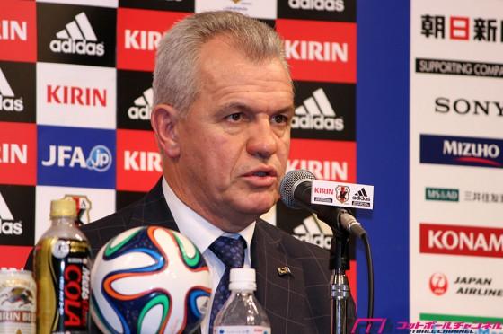 日本代表アギーレ新監督が来日会見「基本システムは4-3-3。守備を固めて勝利を目指す」