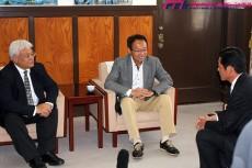 """10年後、J1で優勝争いを――。FC今治・岡田武史""""オーナー""""が見る大きな夢、そして果てなき野望"""