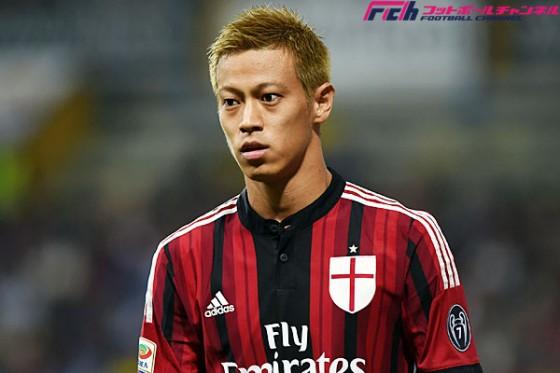 本田、欧州4大リーグで最も評価が高い日本人選手に。6得点以外にこぼれ球収集で貢献