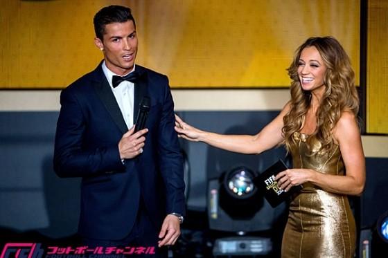 FIFA年間最優秀賞各賞受賞者を発表。バロンドールはC・ロナウドに!
