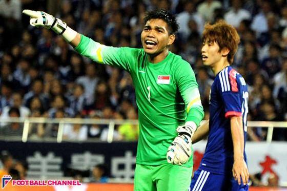 シンガポール代表GK、スペイン挑戦の計画が白紙に。日本代表戦で好セーブ連発