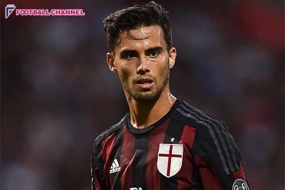 ジェノア、ミランからレンタル移籍でスソ獲得を発表。契約期間は6月まで