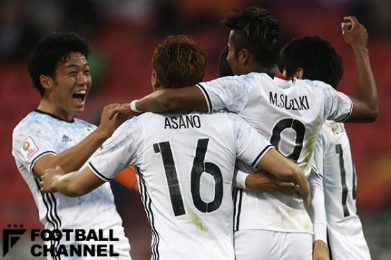 U-23日本、新興国タイを下し2連勝! リオ五輪予選決勝T進出決定