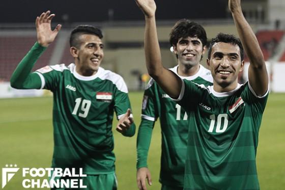 イラク、不屈の精神で3大会ぶり五輪出場権獲得! 延長の末執念でカタール下す
