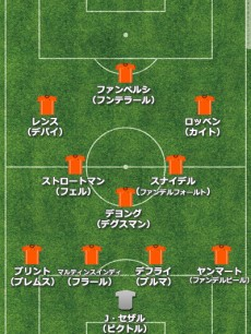 """きっかけは日本戦。上位進出を目指すオランダ、W杯では""""カウンター""""スタイルへ変更の可能性も"""