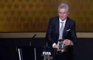 FIFA年間最優秀監督に選出