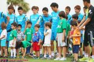 ザックジャパン、タンパ在住の子どもたちと交流。元日本代表・山田卓也がアシスト