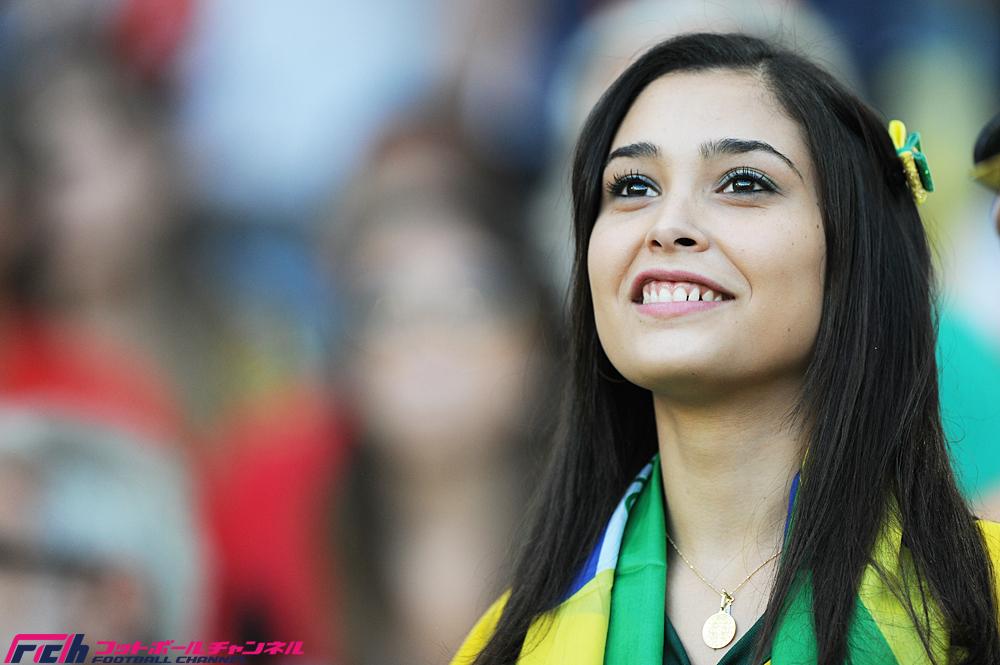 グループE エクアドル代表vsフランス代表戦の美... エクアドル代表vsフランス代表戦の美女サ