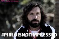イタリア代表アンドレア・ピルロの動画「ピルロは動じない」がソーシャルメディア上で話題に