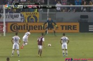 ゴールキーパーが開始34秒で一発退場。MLSで史上最速退場記録