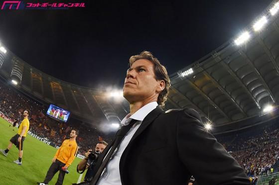 タイトル獲得に燃えるローマ。ガルシア監督が思いを語る「会長、クラブの全員が野望を抱いている」