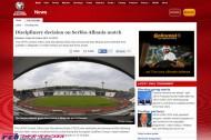 UEFAがセルビアとアルバニアに対する処分を発表