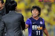 広島のエース佐藤寿人、11年連続二桁得点に王手。リーグ終盤にゴール量産態勢に入るか。背番号11に衰えはなし