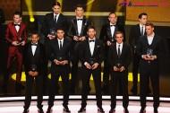 ピルロやJ・ロドリゲスら15選手がFIFProベスト11候補に