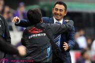 G大阪・長谷川監督、大逆転優勝に「中断明けの連勝でチームがノッた」