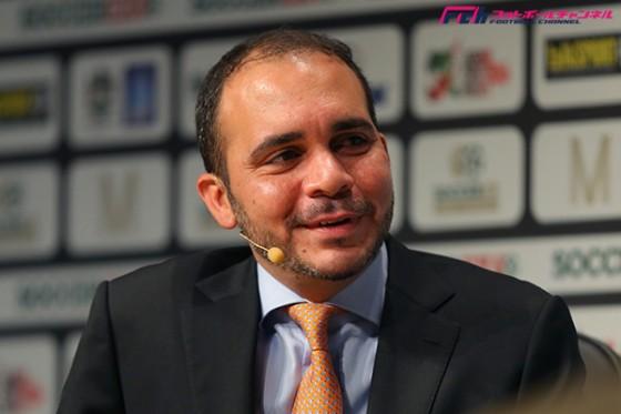 ヨルダンのアル・フセイン王子、FIFA会長選への立候補を表明