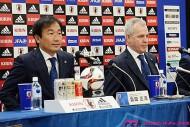 霜田技術委員長、アジア連覇へ「純粋にフットボーラーとして勝ちたい」