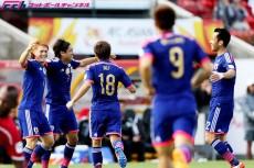 パレスチナ戦HT速報。遠藤&岡崎&本田弾で3-0!「アギーレはリスクを負わなかった」