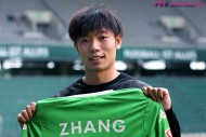 ヴォルフスブルク新加入の中国代表MF、バイエルン戦でデビューなるか