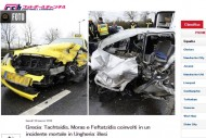 元ローマのタフツィディスらギリシャ代表3選手が交通事故。相手運転手は死亡