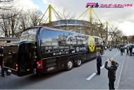 再開の欧州リーグ、大荒れの週末。3件のバス襲撃事件が発生