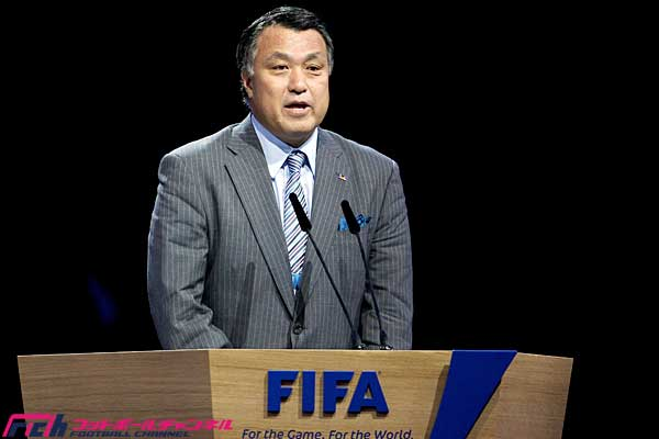 FIFA総会、JFA田嶋幸三副会長の理事就任が承認