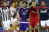ピルロ、カカ、ジョビンコ…。MLSでプレーする10人の選手たち