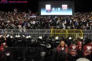 EURO予選没収試合でアルバニア勝利の判決。セルビアは勝ち点剥奪で本戦出場消滅