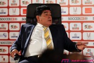 マラドーナ氏、疑惑のPKでメキシコが勝利したパナマ戦の再試合を要求