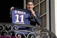 PSG移籍を決断したディ・マリア「クラブのプロジェクトを確信した」