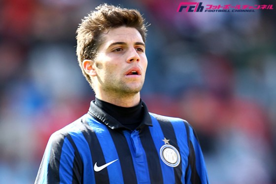 インテル、22歳の若手MFをレンタルで放出。昨年ボローニャのセリエA昇格に貢献