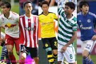 CL&EL本戦出場を目指す11人の日本人選手。欧州最高峰の舞台で存在感を示せるか