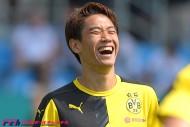 今季初ゴールの香川、嬉しさよりも「安堵」。苦しいプレシーズン乗り越え