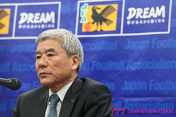 JFA大仁会長、新国立競技場整備計画の再検討を受けコメントを発表「日本のスポーツの象徴になるものにしてほしい」