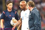 イングランド代表MFデルフ、試合開始わずか9秒で負傷退場。CLユーベ戦も欠場へ