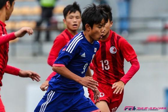 久保建英はノーゴールもU-15日本代表が香港にも大勝! 2連勝でAFC U-16本選出場を決める