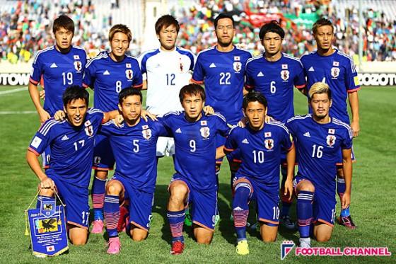 日本代表メンバー発表