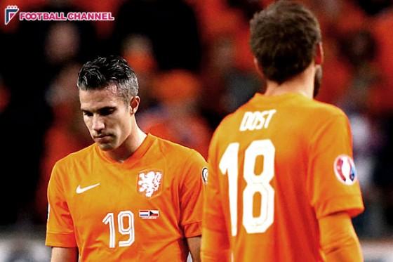 オランダ、32年ぶりEURO予選敗退。10人チェコにV・ペルシがOGで歴史的敗北