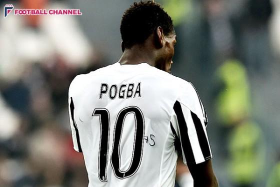 """ポグバ、復調は""""神""""のおかげ? 背番号にサインであの人の誕生日を祝う"""