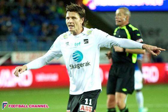 元名古屋&清水の元ノルウェー代表FWヨンセン、現役引退へ…母国リーグで3度の得点王
