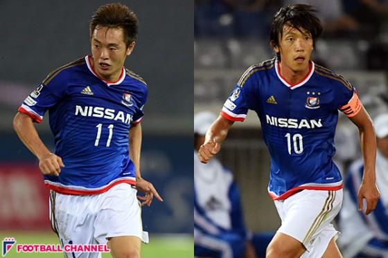 横浜FM・俊輔&斎藤学がタイへラブコール「日本で一緒にプレーしたい」