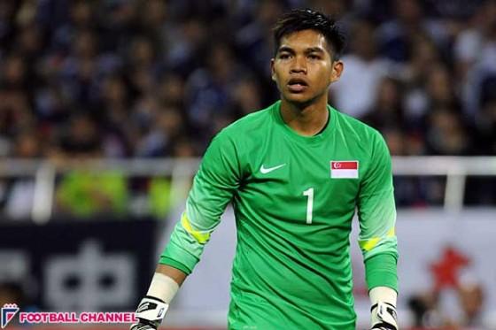 日本戦好守連発のシンガポール代表GK、再戦へ「気合十分」。Jリーグ派遣も?