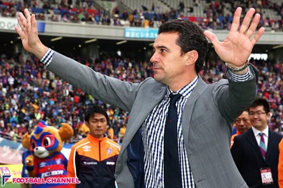 FC東京、フィッカデンティ監督の退任を発表