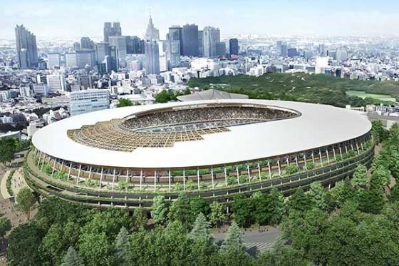 """新国立競技場デザインが決定!""""木と緑のスタジアム""""に"""