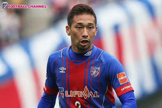 FC東京、石川ら4選手と契約更新を発表。クラブ一筋の徳永は来季で11年目突入へ
