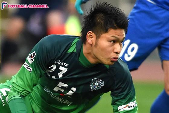 U-23代表GK中村、柏への復帰を発表。昨季は福岡のJ1昇格に尽力