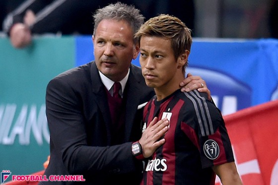 ミハイロビッチ監督、クラブ批判の本田と面談へ「本人から聞いた方がいい」