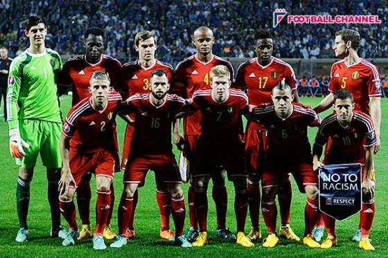 ベルギー、FIFAランキング1位をキープ。アジア最上位のイランは2ランクUP