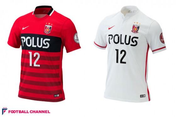 浦和、新ユニフォームを発表。クラブ史上初のボーダー柄を採用