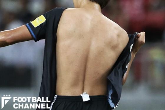 日本代表新ユニ、再び試合中に破れる。耐久性の低さが弱点に?
